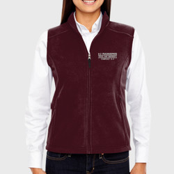 A-2 Ladies Fleece Vest